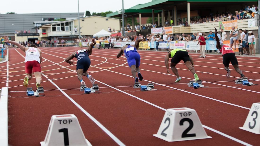 Klaverblad Arena Games junioren sprintgala een succes